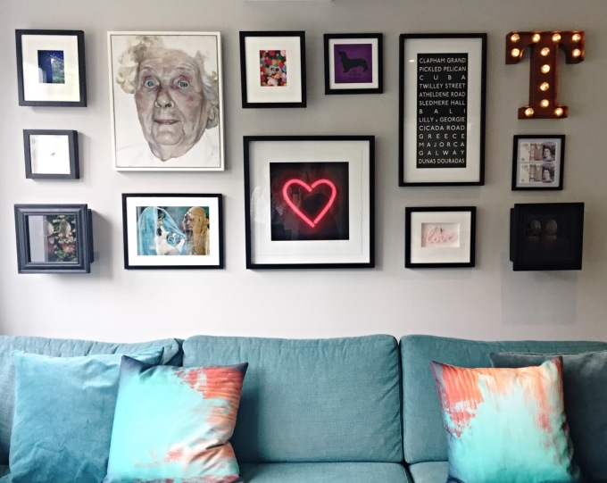 How To Hang A GalleryWall